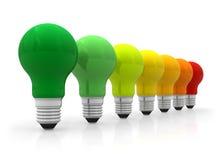 Concept d'efficacité énergétique illustration libre de droits
