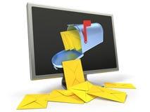 Concept d'email Photo libre de droits