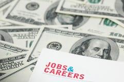 Concept d'emploi Photos stock