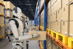 Concept d'entrep?t d'automation