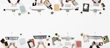 Concept d'entreprise d'affaires professionnelles de profession de bureau photographie stock libre de droits