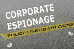 Concept d'entreprise d'espionnage illustration libre de droits