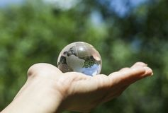 Concept d'environnement du monde Photo libre de droits