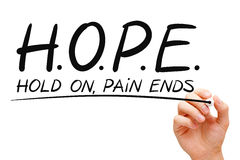 Concept d'espoir