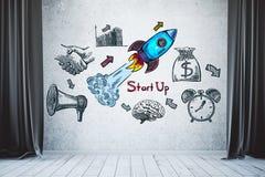 Concept d'esprit d'entreprise Photo stock