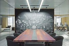 Concept d'esprit d'entreprise et de démarrage illustration de vecteur