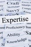 Concept d'expertise et de connaissance photos libres de droits