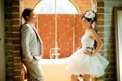 Concept d'exposition de couples de mariage de l'amour Image libre de droits