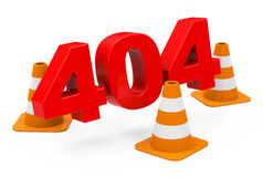 404 concept Royalty Free Stock Images
