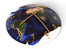 Concept d'heure de la terre illustration libre de droits