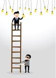 Concept d'homme d'affaires Image libre de droits