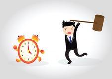 Concept d'horloge Image libre de droits