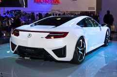 Concept d'hybride d'Acura NSX Images stock