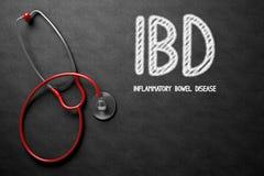 Concept d'IBD sur le tableau illustration 3D Image libre de droits