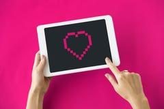 Concept d'icône de technologie d'application d'instrument Photographie stock libre de droits