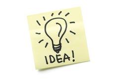 Concept d'idée Photos stock