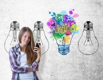 Concept d'idée Images stock