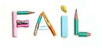 Concept d'idée avec le papier chiffonné coloré Image libre de droits