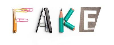 Concept d'idée avec le papier chiffonné coloré Images libres de droits