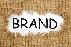 Concept d'idée de marque Image stock