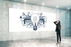 Concept d'idée et de plan photos libres de droits