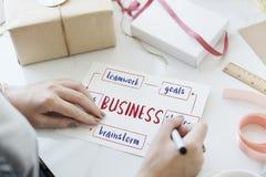 Concept d'idées d'esprit d'entreprise de jeune entreprise Photo stock
