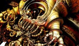Concept d'illustration d'art abstrait images stock
