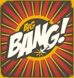 Concept d'illustration de bandes dessinées de vintage Photo libre de droits