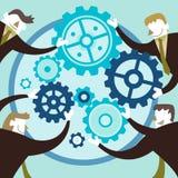 Concept d'illustration de collaboration créative illustration stock