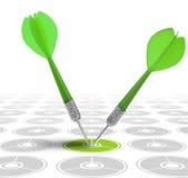 Concept d'image d'une stratégie commerciale illustration de vecteur