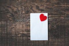 Concept d'image de jour de valentines/fond de Valentine avec le papier Photographie stock