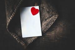 Concept d'image de jour de valentines/fond de Valentine avec le papier Photo stock
