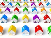 Concept d'immeubles Images stock