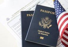 Concept d'immigration/voyage Photos libres de droits