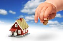 Concept d'immobiliers. Photos libres de droits