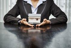 Concept d'immobiliers Photos libres de droits