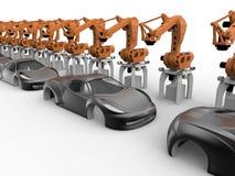 Concept d'industrie automobile illustration stock