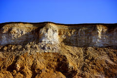 Concept d'industrie d'extraction de roche Photos stock