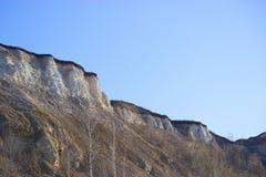 Concept d'industrie d'extraction de roche Images libres de droits