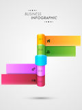 Concept d'infographics d'affaires Images stock