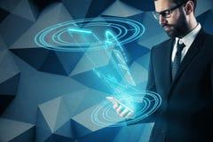 Concept d'innovation et de technologie Photo stock