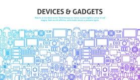 Concept d'instruments de dispositif Image libre de droits