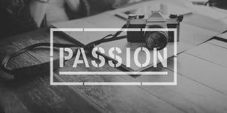Concept d'intérêt d'esprit d'esprit de passion Photographie stock libre de droits