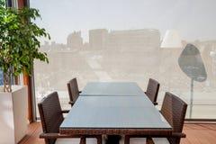 Concept d'intérieur de restaurant Image stock