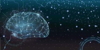 Concept d'intelligence artificielle Image libre de droits