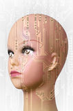 Concept d'intelligence artificielle Photo stock