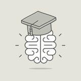 Concept d'intelligence et d'éducation Photos libres de droits