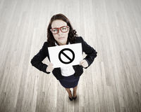 Concept d'interdiction Images libres de droits