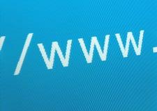 Concept d'Internet Images libres de droits