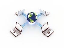 Concept d'Internet Photos stock